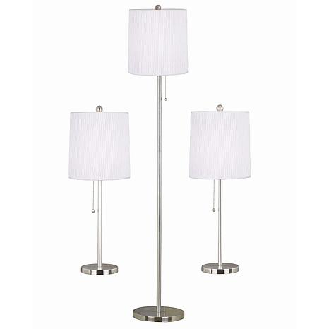Kenroy Home Selma 3-Pack Table/Floor Lamp