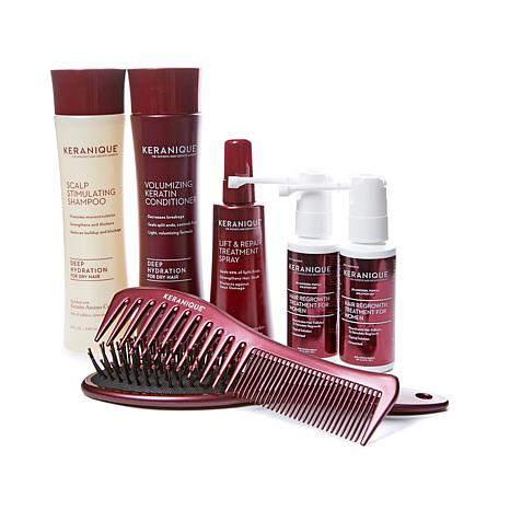 Keranique 60-Day Regrowth Kit w/Comb & Brush