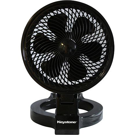 "Keystone 7"" Convertible Fan - Black"