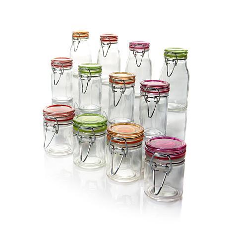 Kinetic Glassworks 12-piece Mini-Jar Set - Small