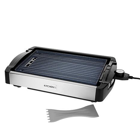 exclusive! Kitchen HQ Reversible Electric Grill and Griddle