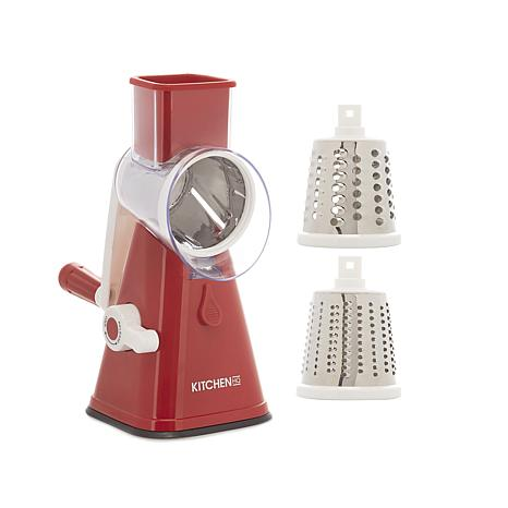Kitchen HQ Speed Grater and Slicer with Suction Base