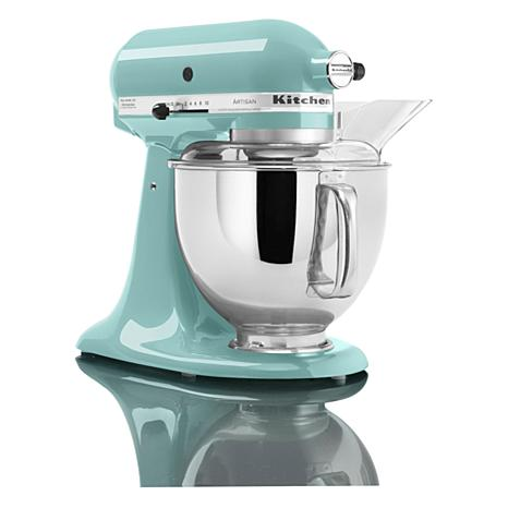kitchenaid artisan series 5 quart tilt head stand mixer 8703058 hsn rh hsn com