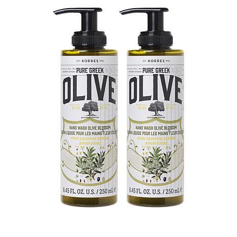 Korres 2-pack Olive Oil & Blossom Liquid Hand Soap