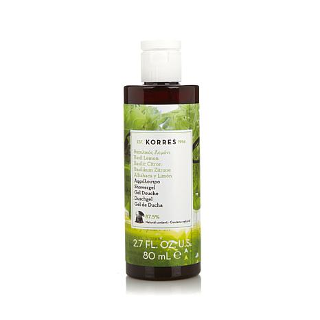 Korres Basil Lemon Shower Gel - 2.7 fl. oz.