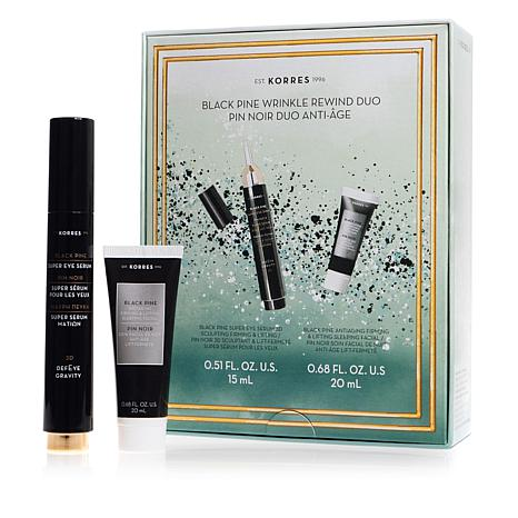 Korres Black Pine Wrinkle Rewind Duo for Face