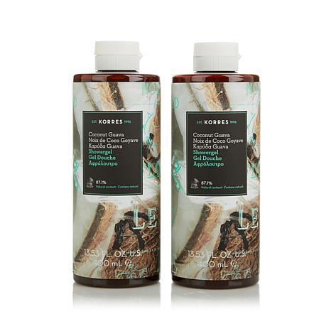 Korres Coconut Guava Shower Gel Duo