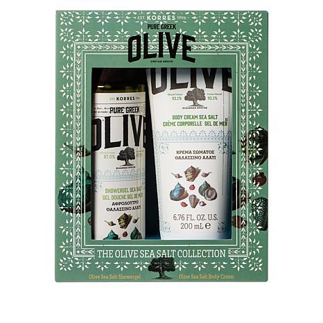 Korres Greek Olive Oil & Sea Salt Body Gift Set