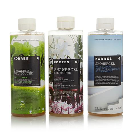 Korres Jumbo Shower Gel Trio