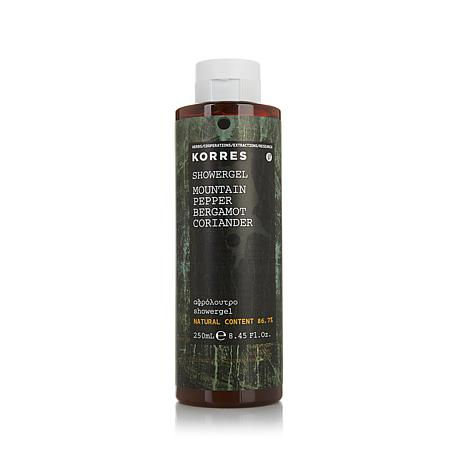 Korres Mountain Pepper and Bergamot Men's Shower Gel