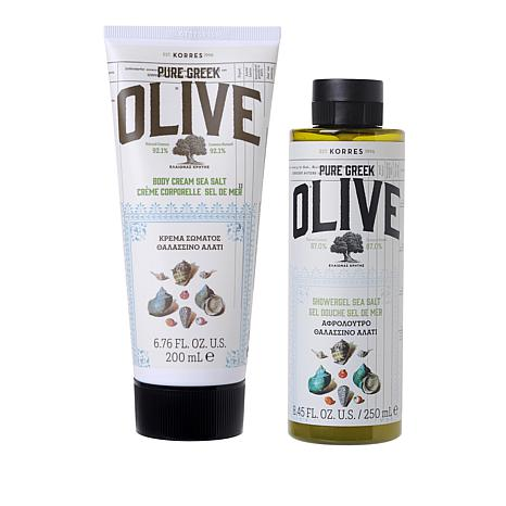 Korres Olive Oil and Sea Salt Body Duo