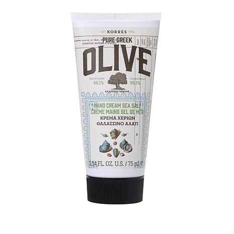 Korres Olive Oil & Sea Salt Hand Cream - 2.54 fl. oz.
