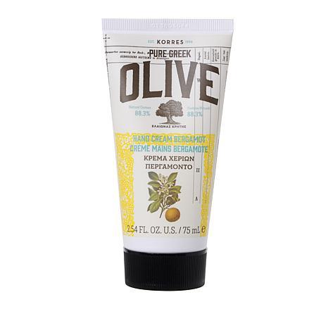 Korres Pure Greek Olive Oil & Bergamot Hand Cream - 2.54 fl. oz.