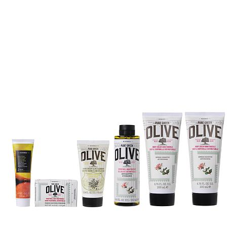 Korres Pure Greek Olive Oil & Honeysuckle 6-piece Set Auto-Ship®