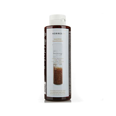 Korres Rice Proteins and Linden Shampoo