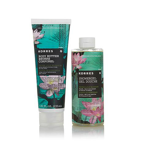 Korres Water Lily Shower Gel and Body Butter Duo