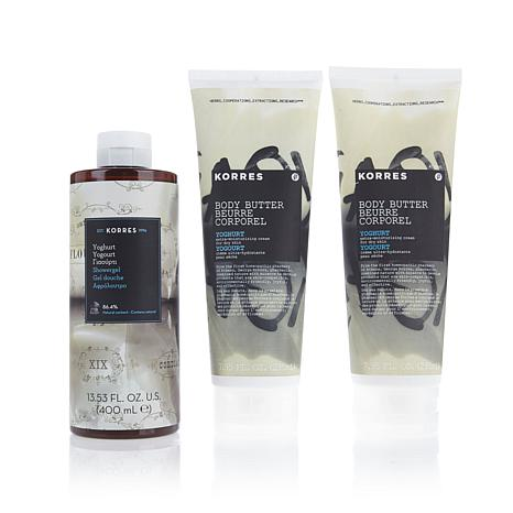 Korres Yoghurt 3-piece Bath & Body Collection