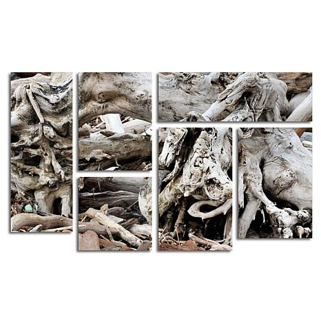 "Kurt Shaffer ""Drift Wood"" Multi-Panel Art Collection"
