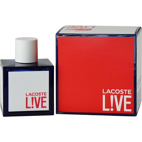 lacoste live by lacoste eau de toilette spray for 3 4 oz 7680427 hsn