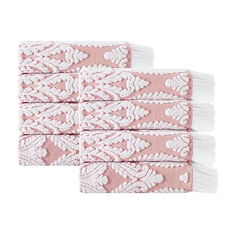 Laina Turkish Cotton 8-piece Hand Towel Set