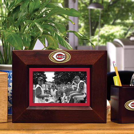 Landscape Brown Picture Frame - Cinncinati Reds