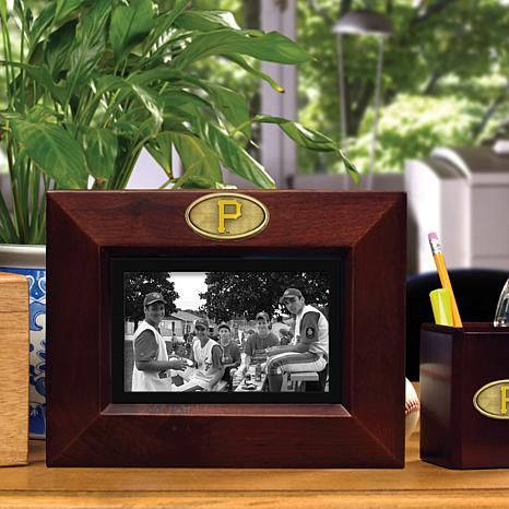 Landscape Brown Picture Frame - Pittsburgh Pirates