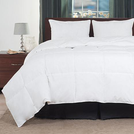 lavish home down alternative overfilled bedding comforter 10073724 hsn. Black Bedroom Furniture Sets. Home Design Ideas