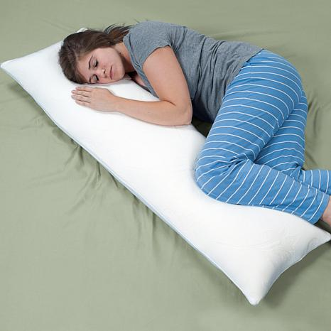"Lavish Home Memory Foam Body Pillow - 50"" x 14"""