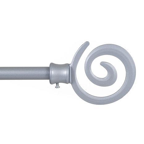 Lavish Home Spiral Curtain Rod