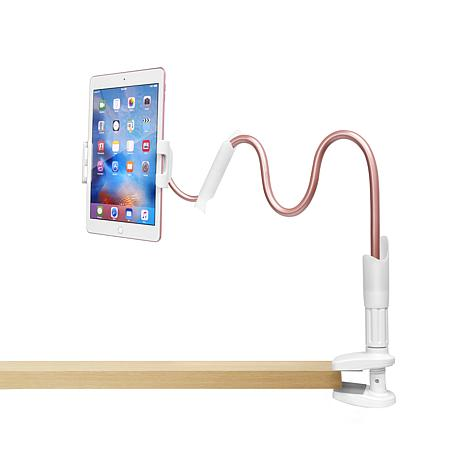 Lazy Arm Flexible Tablet Holder with Adjustable Clamp