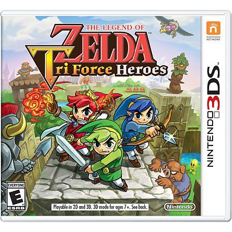 Legend Of Zelda Tri Force - Nintendo 3DS