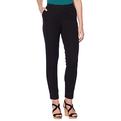 Lemon Way Flawless Twill  Pull-On Ankle Pant