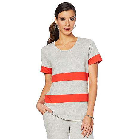 Lemon Way French Terry Colorblocked Tee