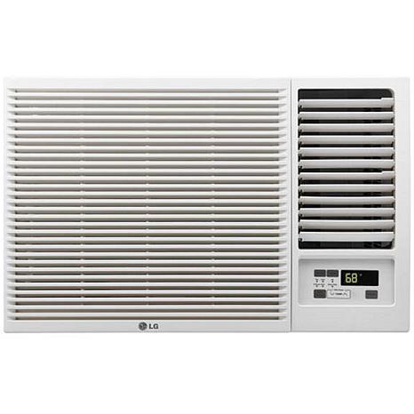 LG 12,000 BTU Window-Mount Air Conditioner with Remote