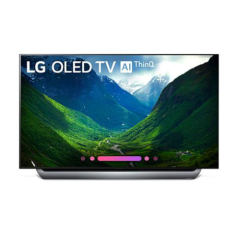 "LG 55"" 4K HDR Smart OLED C8PUA Series TV with AI ThinQ"