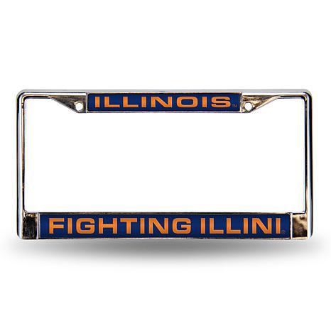License Plate Frame - University of Illinois