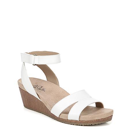 LifeStride® Max Ankle Strap Wedge Sandal