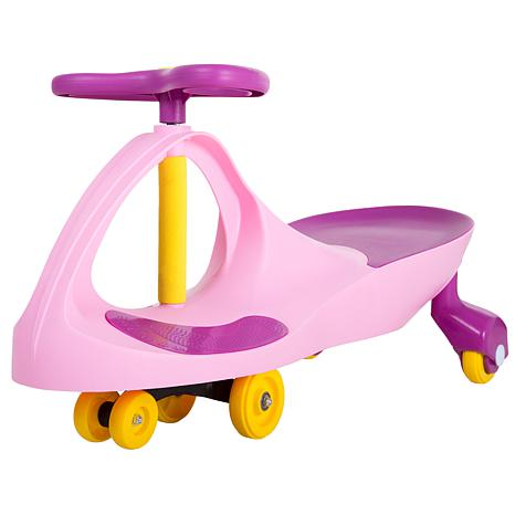 Lil' Rider Wiggle Car Ride-On - Pink/Purple