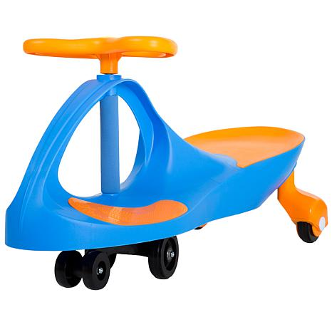 Lil' Rider Wiggle Ride-On Car - Blue/Orange