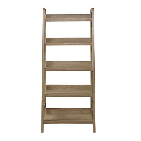 Linon Home Layla Ladder Bookcase - Gray