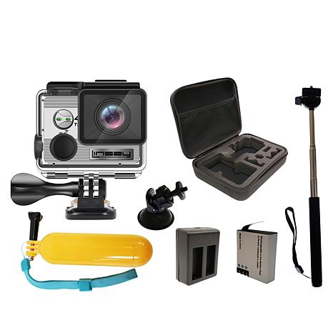 LINSAY 4K Action Camera with Accessories