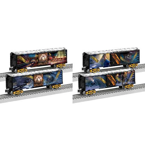 Lionel Trains O-Gauge Polar Express Story Boxcars 2-pack