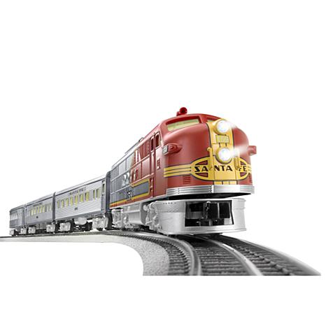lionel trains santa fe super chief o gauge train set with remote