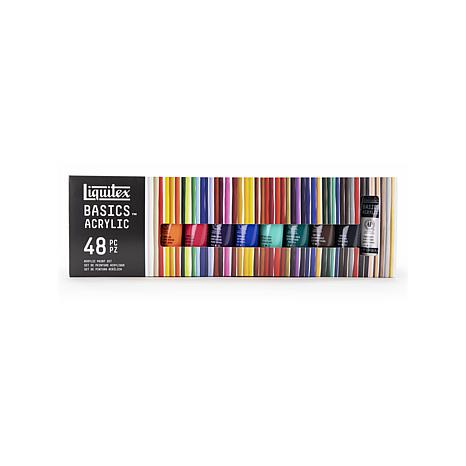 Liquitex Basics Acrylic Sets 22ml Tube Set of 48