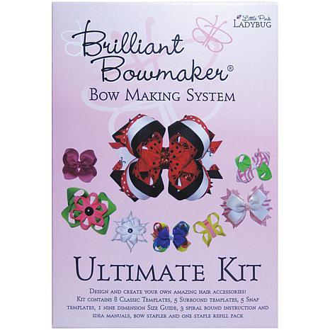 Little Pink Ladybug Brilliant Bowmaker Ultimate Kit