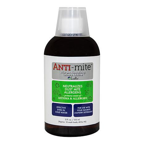 LivePure ANTI-Mite Allergen Removing Laundry Additive