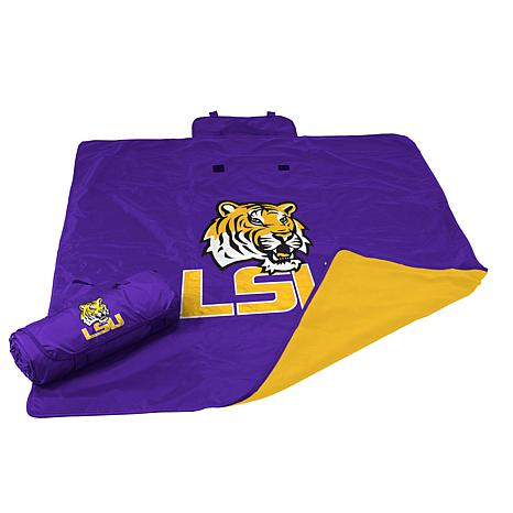 Logo Chair All-Weather Blanket - Louisiana State Un.