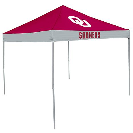Logo Chair Economy Tent - University of Oklahoma
