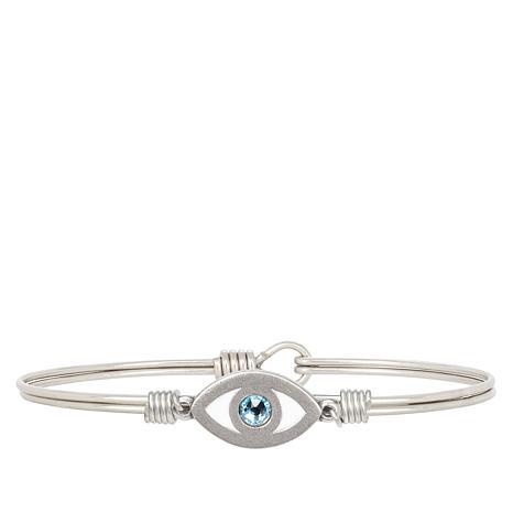 Luca + Danni Faith & Protect Evil Eye Stack Bracelet