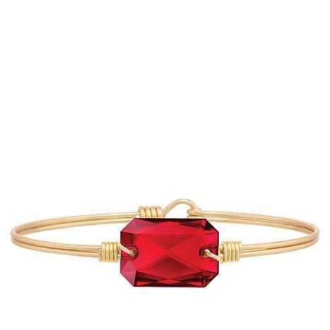 Luca + Danni Scarlet Crystal Stack Bracelet